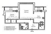 30 900 000 Руб., Продается 2-комн. квартира 96.1 м2, Купить квартиру в Москве по недорогой цене, ID объекта - 327475726 - Фото 9