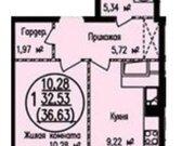 Продажа однокомнатной квартиры в новостройке на улице Архитектора ., Купить квартиру в Кирове по недорогой цене, ID объекта - 319841057 - Фото 2