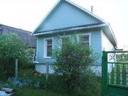 Два дома с баней на уч. 28 сот, в д.Афанасьево, 20 км отг. Коломны - Фото 1