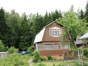 Добротный дом 140 кв.м, баня, красивый участок. Лес.52 км. 7 соток. - Фото 1