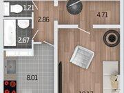 Продажа однокомнатной квартиры в новостройке на Корейской улице, влд6а ., Купить квартиру в Воронеже по недорогой цене, ID объекта - 320573773 - Фото 2