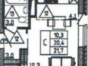 Продажа однокомнатной квартиры в новостройке на улице Кривошеина, ., Купить квартиру в Воронеже по недорогой цене, ID объекта - 320573576 - Фото 1