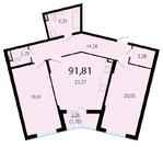 10 676 660 Руб., Продам 2к. квартиру. Жукова ул. к.2.3, Купить квартиру в Санкт-Петербурге по недорогой цене, ID объекта - 318417101 - Фото 1