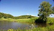 Участок с озером около Новосибирского Академгородка - Фото 1