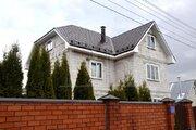 Дом трехэтажный из пеноблоков 330 м2 в 15 км от МКАД, Балашихинский .