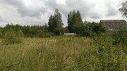 Участок 15 соток, в д.Сибилево(д.Купники), с кирпичным садовым домиком - Фото 2