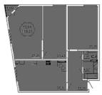Продам 3 комнатную квартиру 120 м2 в ЖК «Castle Houses». - Фото 1