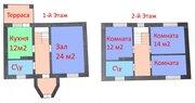 Кирпичный 2-х этажный коттедж 110 м2 под отделку в мкр. Юго-Западный