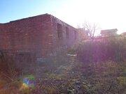 Земельный участок пл 10 соток, с незавершенным строительством жилым . - Фото 1