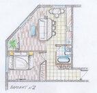 2-к квартира, 52.9 м2, 2/5 эт, Крым, Ялта, ул. Ореховая, 39 - Фото 2