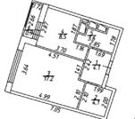 1 комнатная квартира ул. Рождестенская 2 - Фото 2
