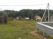 Продается участок 12 соток в середине жилой деревни Легчищево Чехов - Фото 1