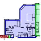 Продажа двухкомнатные апартаменты 35.87м2 в Апарт-отель Юмашева 6