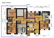 Продаётся 2-комнатная квартира по адресу Лесная 4, Купить квартиру Федоровское, Калининский район по недорогой цене, ID объекта - 326274046 - Фото 2