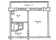 1-комнатная квартира в Кисловодске, Продажа квартир в Кисловодске, ID объекта - 329699512 - Фото 4