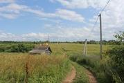 Участок в деревне рядом с озером