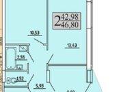Продажа двухкомнатной квартиры в новостройке на улице Хользунова, 99 в ., Купить квартиру в Воронеже по недорогой цене, ID объекта - 320573593 - Фото 2