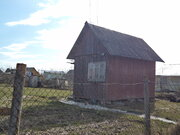 Участок с небольшим щитовым домиком в СНТ Горняк-2 - Фото 1