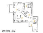 Квартира в ЖК «ввц Тауэр» - Фото 5
