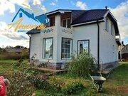 Большой новый каменный дом в деревне Доброе.