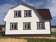 Новый дом с коммуникациями в дер.Юрцово - 80 км Щелковское шоссе - Фото 3