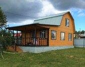 Дом 110 м2, Пруд, Лес, д. Митяево - Фото 1