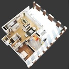 Шикарный пентхаус с собственной террасой в ЖК Таёжный - Фото 5