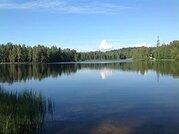 Зу в Юкках на берегу озера, 2-х уровневый в лесном массиве. ИЖС 20 сот - Фото 1