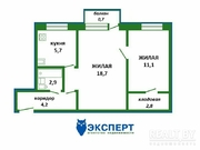 Продажа квартиры в Белоруссии, Купить квартиру в Слуцке по недорогой цене, ID объекта - 318327300 - Фото 3