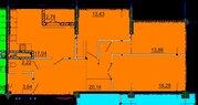 3-комнатная квартра в новом строящемся доме 92 кв.м., Продажа квартир в Белгороде, ID объекта - 326402729 - Фото 2