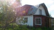 Кирпичная двух этажная дача рядом с озером 50 км от Москвы. - Фото 1