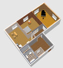 Продажа просторной 2-х комнатной квартиры 92 кв.м. с кухней 21,4 кв.м. - Фото 3