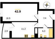 Владимир, Куйбышева ул, д.12, 1-комнатная квартира на продажу