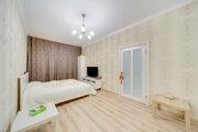 Современная стильная 1-комнатная квартира в ЖК комфорт-класса Жемчу.