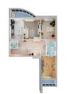 ЖК столичный чистопольская 88 продажа трехкомнатной квартиры метро - Фото 5