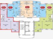Двухкомнатная квартира в мкр Радужный, Купить квартиру в новостройке от застройщика в Чебоксарах, ID объекта - 321582345 - Фото 1