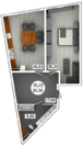 Продам 1 комнатную квартиру 85 м2 в ЖК «Castle Houses» - Фото 1