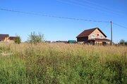 15 соток, Церковь, Газ, д. Григорово - Фото 1
