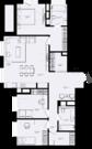 """ЖК """"Only""""-апартамент 104кв.м. с отделкой,3 спальнями и кухней-гостиной, Купить квартиру в новостройке от застройщика в Москве, ID объекта - 327491484 - Фото 5"""