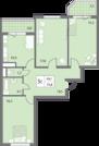 2 936 000 Руб., Продается трехкомнатная квартира на ул. 65 Лет Победы, Купить квартиру в Калуге по недорогой цене, ID объекта - 316027739 - Фото 6