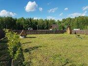 Земельный участок 10 соток СНТ у д.Грибановка - Фото 1