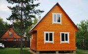 Новый дачный дом 70 кв.м. на 8 сот. в СНТ Полутино г.Киржач - Фото 1