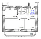 2х-комнатная квартира в кирпич доме на Моховой - Фото 5