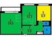 Продажа двухкомнатной квартиры на Московском проспекте, 9б в Кемерово, Купить квартиру в Кемерово по недорогой цене, ID объекта - 319828696 - Фото 1