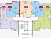 Однокомнатная квартира в мкр.Радужный, Купить квартиру в новостройке от застройщика в Чебоксарах, ID объекта - 325488334 - Фото 1