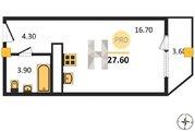 1 435 200 Руб., Продажа квартиры, Пенза, Ул. Антонова, Купить квартиру в Пензе по недорогой цене, ID объекта - 326438872 - Фото 2