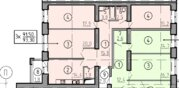 Трехкомнатная квартира в строящемся доме от застройщика - Фото 2