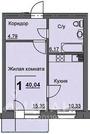 1-к кв. Курганская область, Курган 16-й мкр, 11 (36.9 м)