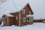 Дом из бруса с Газом, 15 соток, д. Лизуново - Фото 3