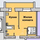 Продаю1комнатнуюквартиру, Сыктывкар, Емвальская улица, 23